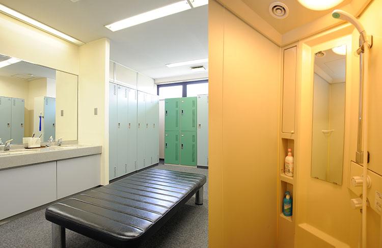 ロッカールーム/シャワールーム